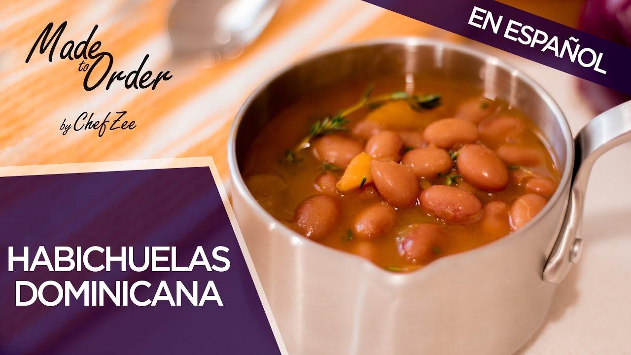 Habichuelas Guisadas Dominicana | A La Orden | Chef Zee Cooks
