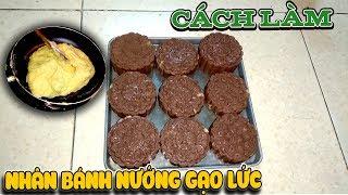 Cách làm nhân bánh nướng gạo lức( Brown rice moon cake ) | Văn Hóng
