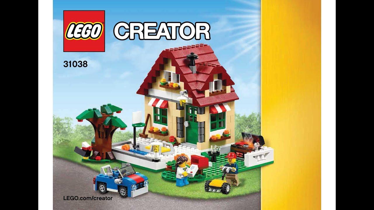 Lego 31038 Changing Seasons Summer Cottage Instructions Lego Creator