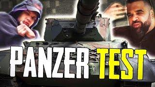 #4 PANZER TEST MIT ALI BUMAYE | GEILNES TEST | SLAVIK JUNGE