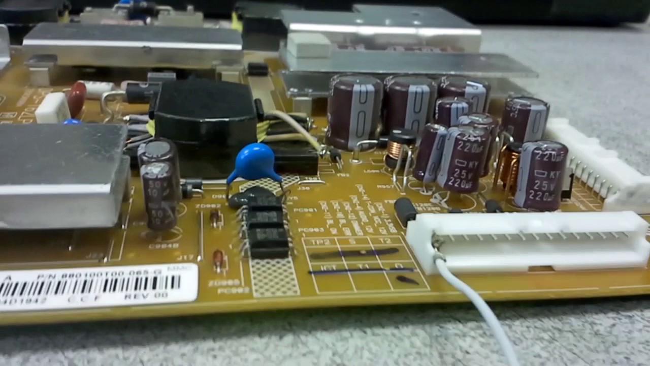 How To Test Sony Dps 162lp Power Supply Board
