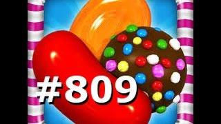 Candy Crush Saga -  Level 809 - 3 Stars - No boosters
