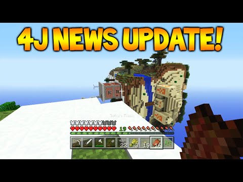 Minecraft Xbox 360/PS3 - NEW Update Information + Screenshots Coming Tomorrow! (4j News)