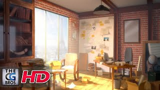 """CGI & VFX Breakdown: """"A Higher Place: My Office"""" - by Thitaphon Piraban"""