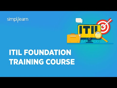ITIL 4 Foundation Course   ITIL Tutorial For Beginners  ITIL Certification Training   Simplilearn