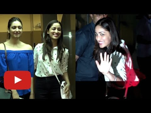 Yami Gautam SPOTTED ON A Movie Date