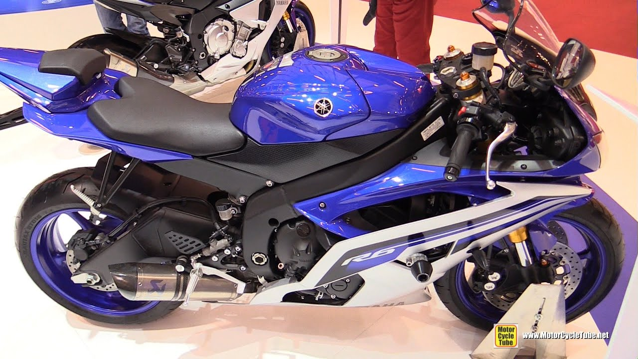 2016 yamaha r6 walkaround 2015 salon de la moto paris youtube. Black Bedroom Furniture Sets. Home Design Ideas