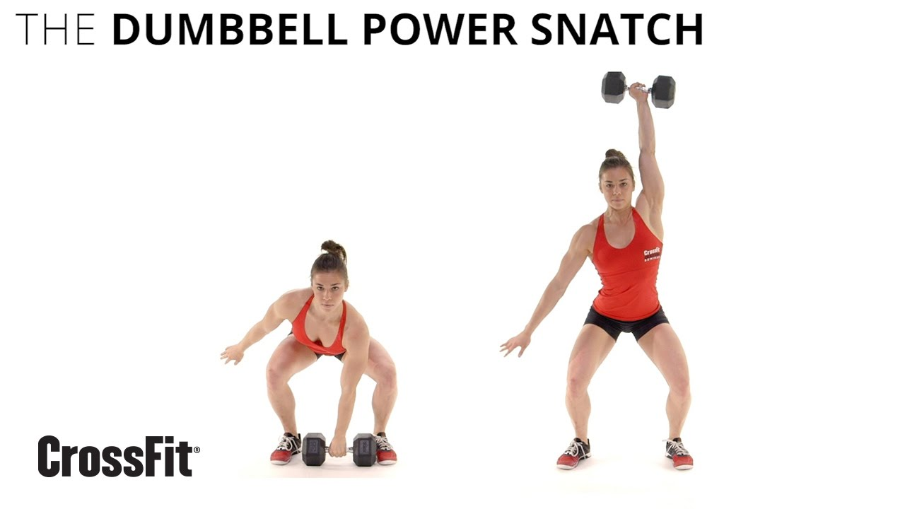 The Dumbbell Power Snatch - YouTube