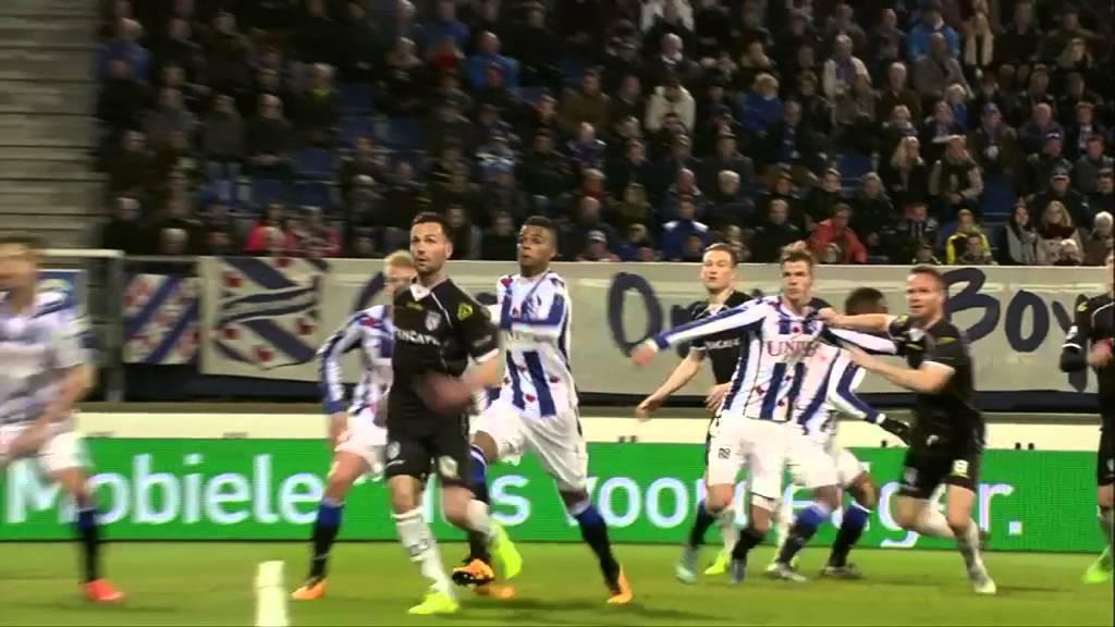 sc Heerenveen - Heracles Almelo 0-1 | 19-03-2016 | Samenvatting