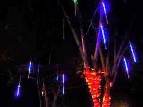 Luces Led Decorativas Tipo Meteoro Youtube
