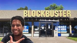 THE LAST BLOCKBUSTER STORE AND HOW IT CAN DEFEAT NETFLIX!!!