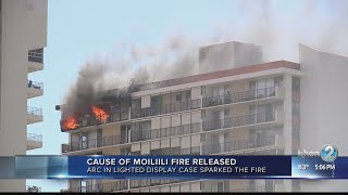 Cause of Moiliili fire was an accident
