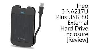 Ineo I-NA217U Plus USB 3.0 External Hard Drive Enclosure [Review]