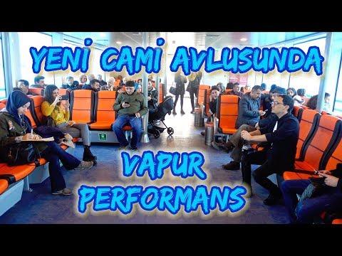 Emin Karadayı - Yeni Cami Avlusunda ( Vapur Performans)