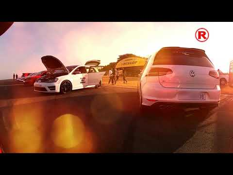 MK7 R Vs GTI Drag races - Vag motorsport Durban Drag day August 2020. #redlinetuningmedia
