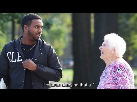 Grandma Pranks College Kids At Ohio State | Ross Smith