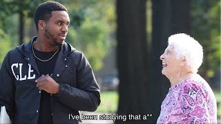 Grandma Pranks College Kids at Ohio State | Ross Smith ft. BigDawsTV