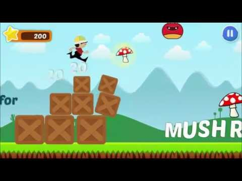 ABC Runner kids game Android: Endless Runner (made with buildbox) trailer