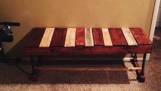 Sterling Davis Inspired : 2016 Pallet Challenge / Video # 14(I turn a couple of pallets into bench seating. Fun and simple build :-} Check out Sterling Davis channel here...., 2016-08-31T04:05:26.000Z)