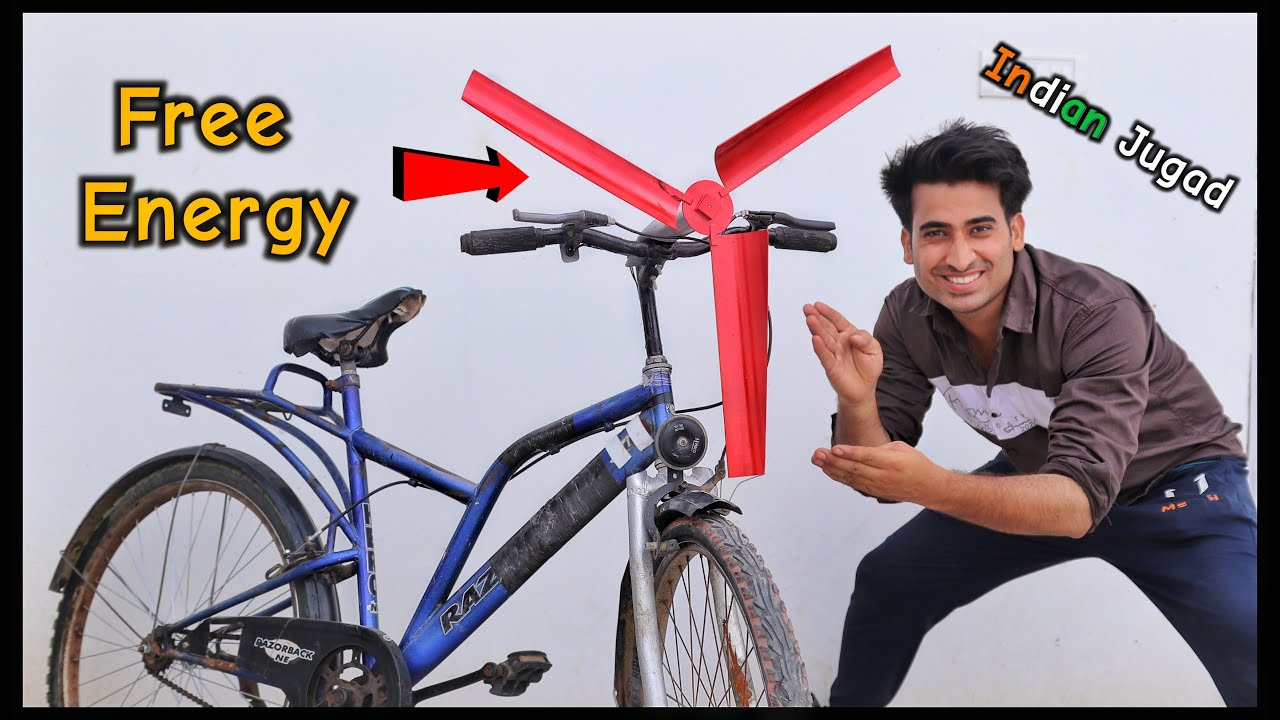 Cycle से बनाई 100% Free कि बिजली || Make Free Electricity From Cycle