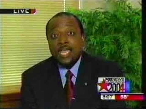 Alan Keyes flips out on Walter Jacobson