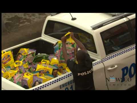 Police donate 240 care packages as part of police week