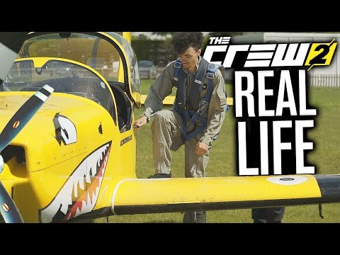 FLYING A PLANE FROM THE CREW 2... IN REAL LIFE!