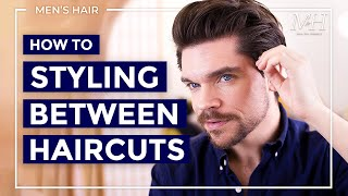 How I Style My Hair Between Haircuts | Grown Out Hairstyle