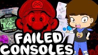 Nintendo's FAILED Consoles - ConnerTheWaffle