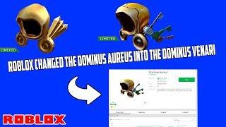 Roblox changed the Aureus into the Dominus Venari|