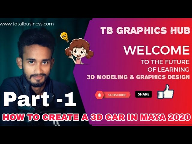 Car Modelin 3D -Part 1