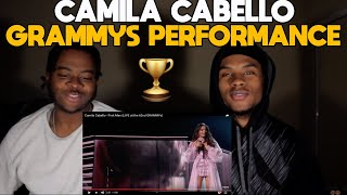 Camila Cabello - First Man (LIVE at the 62nd GRAMMYs)  Reaction