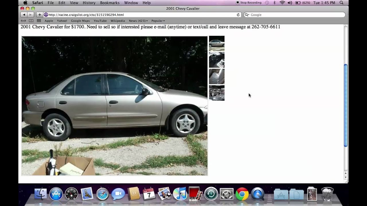 Craigslist racine wisconsin cars and trucks used vehicles for sale by owner offer low prices youtube