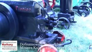 """Silnik """"Pionier S.A."""" w zbiorach Muzeum Rolnictwa w Ciechanowcu"""