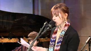 "Soundcheck: Suzanne Vega performing ""Harper Lee"""