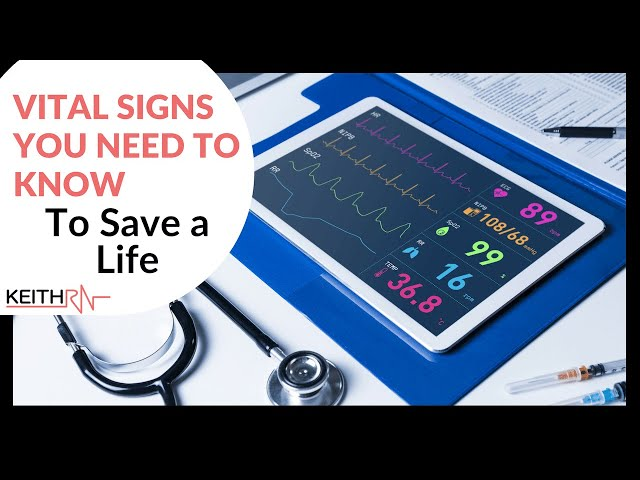 Vital Signs You Need To Know to Save a Life!