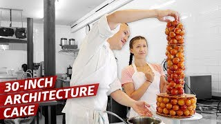 How a Master Pastry Chef Uses Architecture to Make Sky High Pastries — Sugar Coated