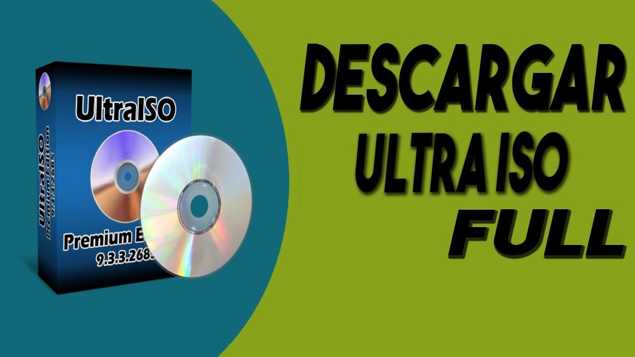descargar ultraiso full en español