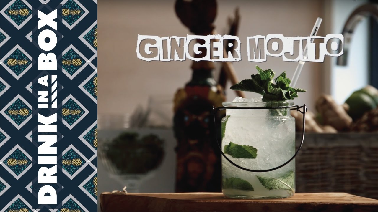 How To Make A Ginger Mojito - Drink In A Box
