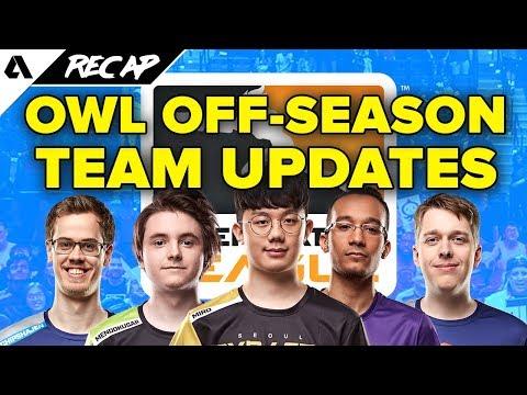 Overwatch League Off-Season Roster Update News Round Up | Akshon Recap thumbnail