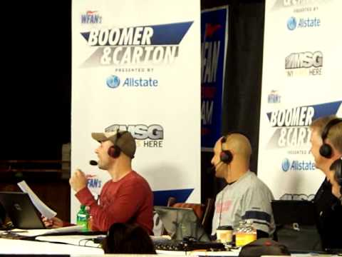 11/11/11 Al Dukes sings his Jets beat New England song with Boomer & carton on WFAN