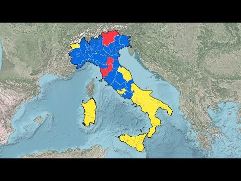 Italian General Election Results (1946-2018)
