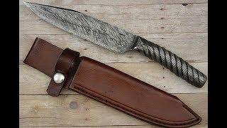 Клинок из стального троса(Ножи ручной работы. Handmade knives sklad31@yandex.ru группа вконтакте http://vk.com/hamanknivesclub., 2016-01-12T21:13:47.000Z)