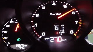 Porsche Macan Turbo ACCELERATION & TOP SPEED 480 HP 0-270 km/h RaceChip TUNED