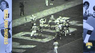 1971 vs. Purdue 'The Genuflect Play' - 125 Years of Notre Dame Football - Moment #013