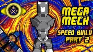 Roblox Build Your Mech: Mega Mech Speed Build Part 2 [Torso/Head]