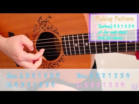 """i hate u i love u"" - gnash (feat. Olivia O'Brien) EASY Guitar Tutorial/Chords"