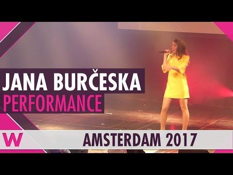 """Jana Burčeska """"Dance Alone"""" (FYR Macedonia 2017) LIVE @ Eurovision in Concert 2017"""