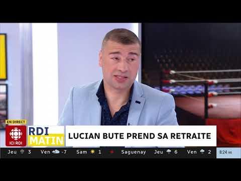 Entrevue avec Lucian Bute qui prend sa retraite