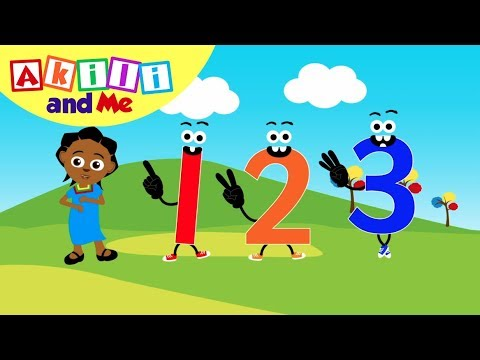 Number Three Song! | Counting Songs by Akili and Me | Cartoons for Preschoolers